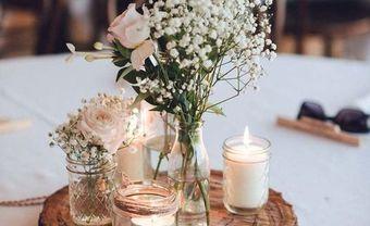 Trang trí tiệc cưới bằng đồ handmade đơn giản và đẹp - Blog Marry