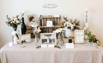 trang trí bàn tiệc cưới Gallery