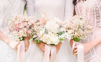 Hoa cưới hợp dáng cô dâu