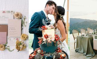 12 màu cưới cực trendy khuấy động năm 2021 - Blog Marry