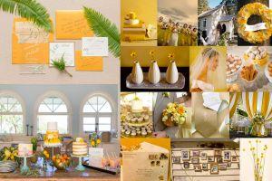 14 ý tưởng cho chủ đề đám cưới màu vàng khuấy động năm 2021 - Blog Marry