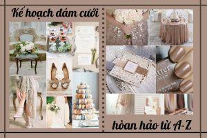 Đám cưới trở nêm đơn giản với kế hoạch chuẩn từ A-Z - Blog Marry