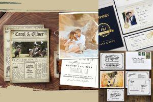 Top 15 mẫu thiệp cưới phá cách nhất định phải có trong mùa cưới cuối năm - Blog Marry