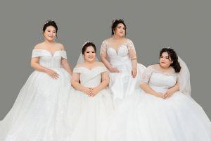 """6 quy tắc chọn váy cưới """"một phát ăn ngay"""" cho nàng dâu mũm mĩm - Blog Marry"""