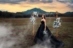 Áo cưới đen - Thách thức cô dâu cá tính - Blog Marry