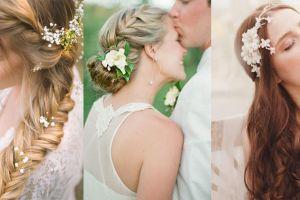 """4 kiểu tóc cưới """"cứu cánh"""" cho cô dâu vào ngày hè - Blog Marry"""
