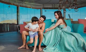 Hà Hồ mang song thai nhưng vẫn kiên trì không lên tiếng mà chăm chỉ đăng hình ngày nhỏ của Subeo? - Blog Marry