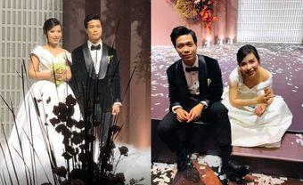 """Khoảnh khắc Viên Minh """"xả vai"""" cô dâu, ngồi bệt xuống cạnh Công Phượng sau đám cưới thấy vừa thương vừa hài - Blog Marry"""