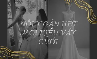 Top 5 loại nội y cân hết mọi váy cưới - Blog Marry
