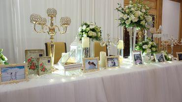 Combo bàn Gallery & Backdrop phong cách Mộc I - Tự Trang Trí Đám Cưới - Hình 5