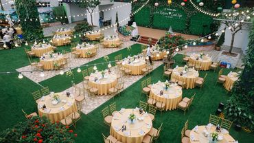 TRANG TRÍ SẢNH TIỆC CƯỚI - Trung tâm tổ chức sự kiện & tiệc cưới CTM Palace - Hình 2
