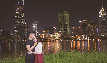 Trọn gói Album cưới ngoại cảnh Sài Gòn ngày và đêm - Hệ thống cửa hàng dịch vụ ngày cưới ALEN - Hình 11