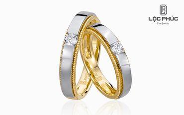 Nhẫn cưới Just For Love - W2B.VWR0140R - Công ty Cổ phần Vàng Bạc Đá Quý Lộc Phúc - Hình 1