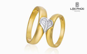 Nhẫn cưới Falling In Love - W2B.W173R - Công ty Cổ phần Vàng Bạc Đá Quý Lộc Phúc - Hình 1