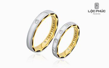 Nhẫn cưới Dream Of Love - K1B.LPW0039R - Công ty Cổ phần Vàng Bạc Đá Quý Lộc Phúc - Hình 1