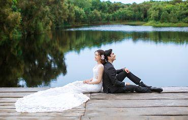Tron gói album cưới ngoại cảnh Hồ Cốc - Hệ thống cửa hàng dịch vụ ngày cưới ALEN - Hình 19