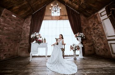 Trọn gói album cưới phim trường L'amour - Hệ thống cửa hàng dịch vụ ngày cưới ALEN - Hình 6