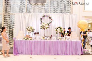 Bữa tiệc màu sắc - Trung tâm Tiệc cưới & Sự kiện Star Galaxy - Hình 7