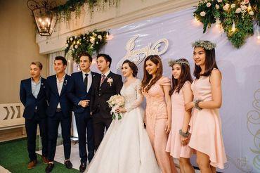 [Real wedding] James & Nikki | 15.04.2017 | Metropole. - Pink and Mint - Hình 5