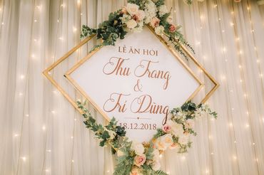 5. TRÍ DŨNG - THU TRANG - Trung tâm tổ chức sự kiện & tiệc cưới CTM Palace - Hình 10