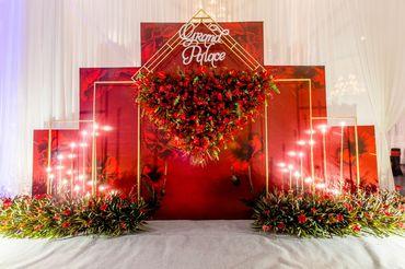 GÓI TRANG TRÍ THEO CHỦ ĐỀ BLOOMING LOVE - Trung Tâm Hội nghị - Tiệc Cưới Grand Palace - Hình 4