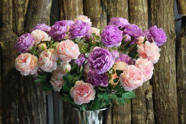 Hoa vải cao cấp - Midori Shop - Phụ kiện trang trí ngành cưới - Hình 54