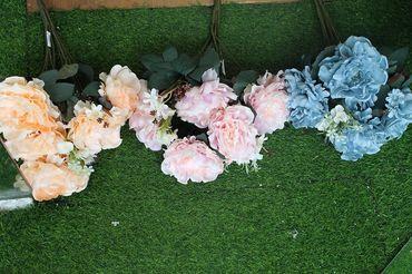 Hoa vải cao cấp - Midori Shop - Phụ kiện trang trí ngành cưới - Hình 28
