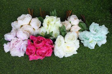 Hoa vải cao cấp - Midori Shop - Phụ kiện trang trí ngành cưới - Hình 29