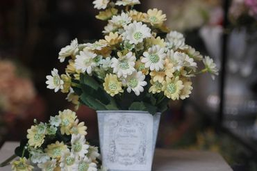 Hoa vải cao cấp - Midori Shop - Phụ kiện trang trí ngành cưới - Hình 48