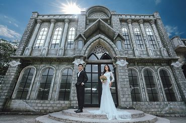 Trọn gói album cưới phim trường Alibaba - Hệ thống cửa hàng dịch vụ ngày cưới ALEN - Hình 13