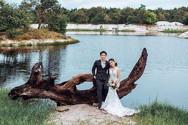 Tron gói album cưới ngoại cảnh Hồ Cốc - Hệ thống cửa hàng dịch vụ ngày cưới ALEN - Hình 16