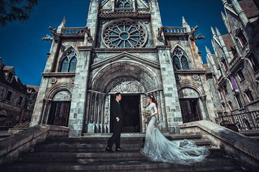 Trọn gói Album cưới Đà nẵng - Bà Nà Hill - Hệ thống cửa hàng dịch vụ ngày cưới ALEN - Hình 7