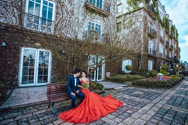 Trọn gói Album cưới Đà nẵng - Bà Nà Hill - Hệ thống cửa hàng dịch vụ ngày cưới ALEN - Hình 8