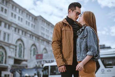 Trọn gói album cưới Sài Gòn mùa thương nhớ - Hệ thống cửa hàng dịch vụ ngày cưới ALEN - Hình 10