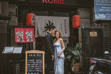 Trọn gói album cưới Sài Gòn mùa thương nhớ - Hệ thống cửa hàng dịch vụ ngày cưới ALEN - Hình 14