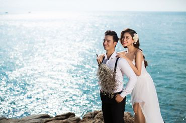 Trọn gói album cưới ngoại cảnh Vũng Tàu - Hệ thống cửa hàng dịch vụ ngày cưới ALEN - Hình 3