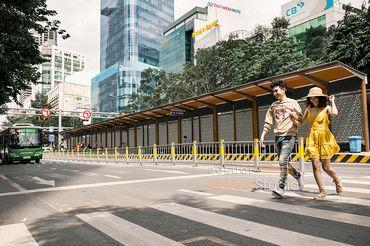 Một Thoáng Sài Gòn + Studio Hàn Quốc - Áo Cưới Lê Mẫn - Hình 7