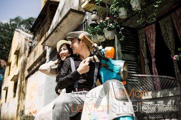 Một Thoáng Sài Gòn + Studio Hàn Quốc - Áo Cưới Lê Mẫn - Hình 27