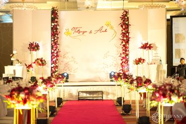 Trang trí hội trường Khách sạn - Style 1 - Tiffany Wedding and Event - Hình 1
