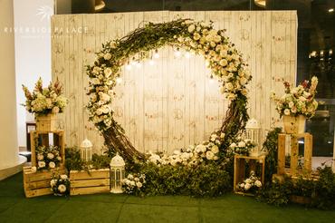 Tiệc cưới theo chủ đề SWEET RUSTIC - Riverside Palace - Hình 1