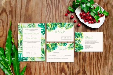Thiệp cưới thiết kế - 99Merci - Hình 2