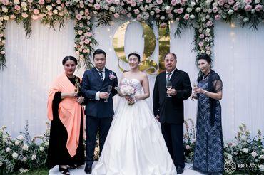 Trang trí tiệc cưới hội trường - Khách sạn hoa tươi - Style 3 - Tiffany Wedding and Event - Hình 10