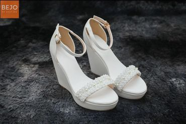 Giày cưới 12cm  - Giày cưới / Giày Cô Dâu BEJO BRIDAL - Hình 7