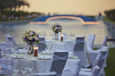 Tiệc cưới bên Hồ bơi Vô Cực  - Sheraton Grand Danang Resort - Hình 8