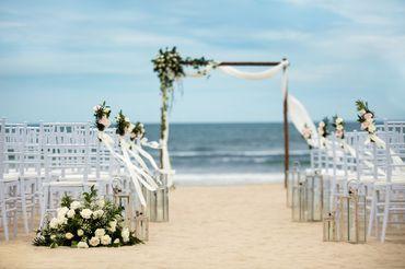 Không gian tiệc cưới bên biển - Sheraton Grand Danang Resort - Hình 2