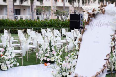 Tiệc cưới bên Hồ bơi Vô Cực  - Sheraton Grand Danang Resort - Hình 3