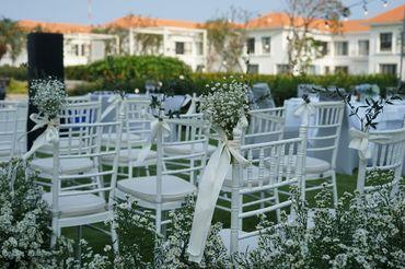 Tiệc cưới bên Hồ bơi Vô Cực  - Sheraton Grand Danang Resort - Hình 4