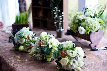 Đám cưới Vintage tại Thảo Điền Village - Lily Flowers & Wedding - Hình 5