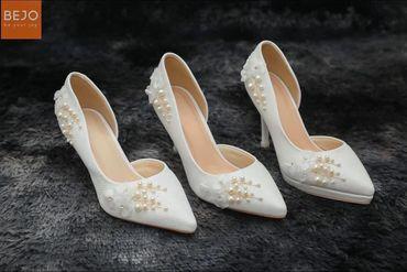 Giày 9cm  - Giày cưới / Giày Cô Dâu BEJO BRIDAL - Hình 1
