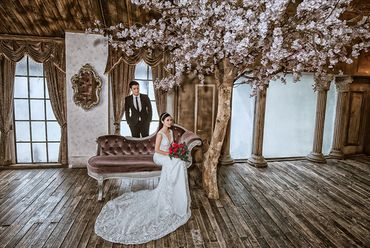 Trọn gói album cưới phim trường L'amour - Hệ thống cửa hàng dịch vụ ngày cưới ALEN - Hình 9
